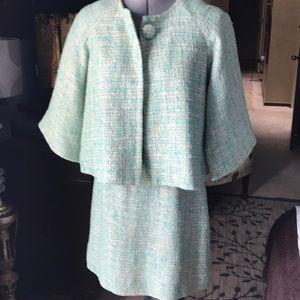 EUC Kate Spade Boucle skirt suit sz S